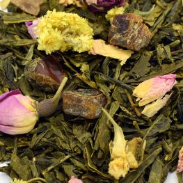 Thé vert la vie en rose Bio