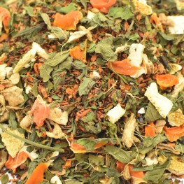 orange gingembre rooibos menthe