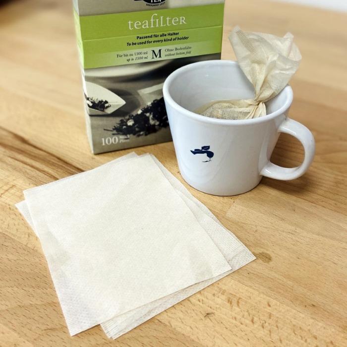 Filtres à thé papier