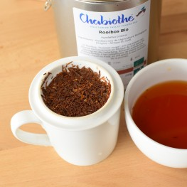 thé rouge rooibos infusion