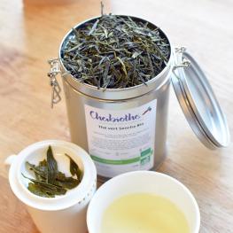 Boite en métal pour thé