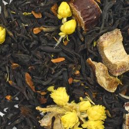 Thé noir aromatisé citron datte Bio