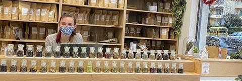 selection de thés et infusion bio
